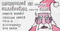 Caldissima Natale Mercoledi Milano Festa Sam Sampling Moods