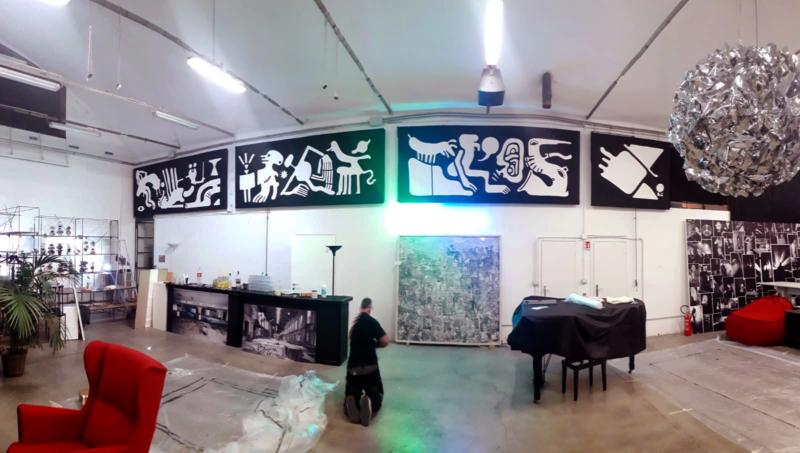 The Dance of SAM - Oliver D'Auria Gianni Ludico Sampling Moods Arte Milano