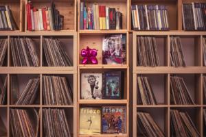 SAM library vinili
