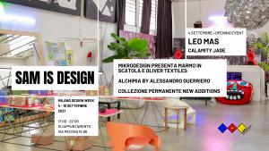 SAM-is-DESIGN-milano design week 2021 mecenate