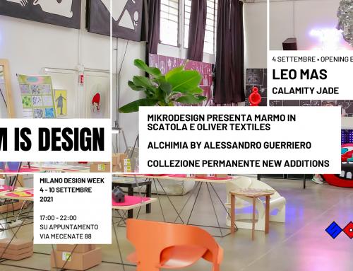 SAM IS DESIGN: Milano Design Week, 4-10 Settembre 2021